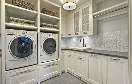 AmeriCabinets Laundry Room Closets